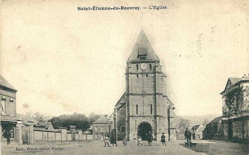 Saint tienne du rouvray autrefois l 39 glise saint pierre for Frazzi saint etienne du rouvray