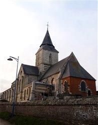 L\'église Saint-Martin - Hautot-l\'Auvray