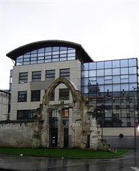 Les restes de l\'église Saint-Vincent - Rouen